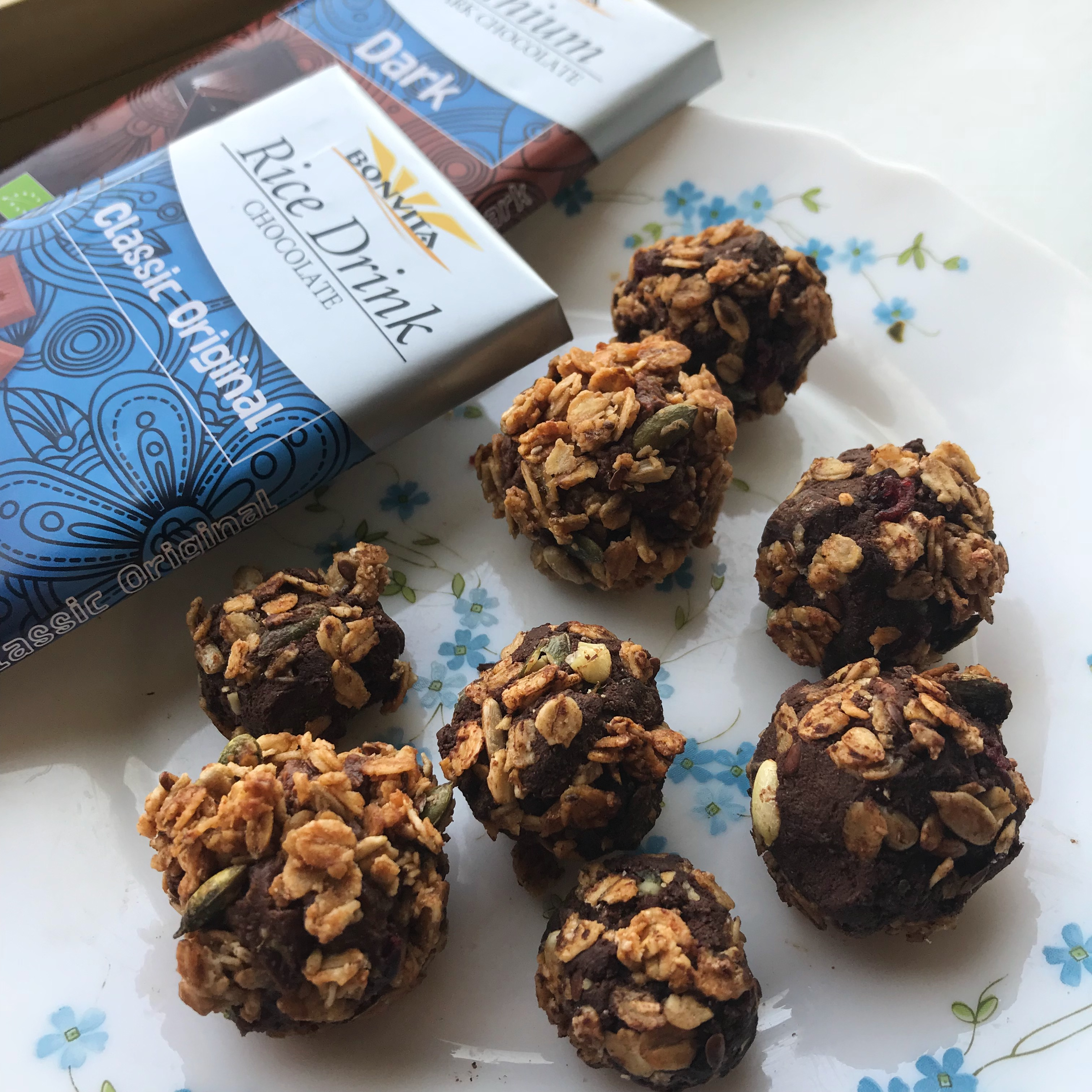 Chocolate truffles with only 3 ingredients